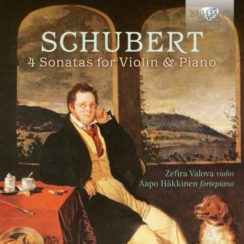 Cover Schubert: 4 Sonatas for Violin & Piano