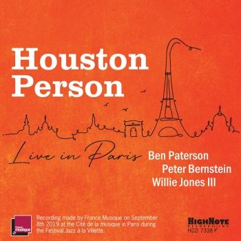 Cover Houston Person Live in Paris