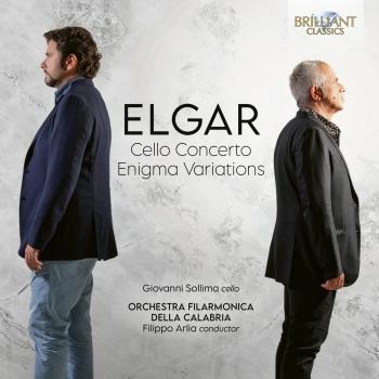 Cover Elgar: Cello Concerto, Enigma Variations