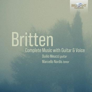 Cover Britten: Complete Music with Guitar & Voice
