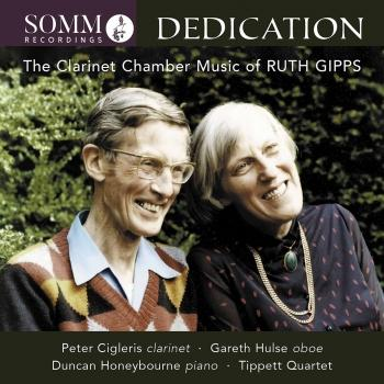 Cover Gipps: Clarinet Chamber Music