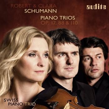 Cover Robert & Clara Schumann: Piano Trios, Op. 17, 88 & 110