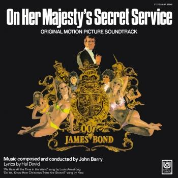 Cover On Her Majesty's Secret Service (Original Motion Picture Soundtrack)