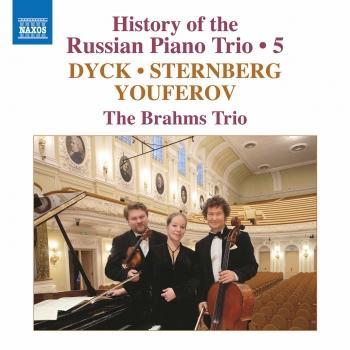 Cover History of the Russian Piano Trio, Vol. 5