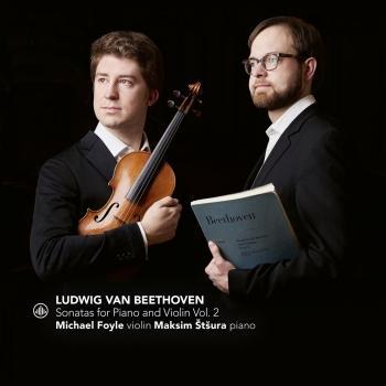 Cover Beethoven: Sonatas for Piano and Violin Vol. 2