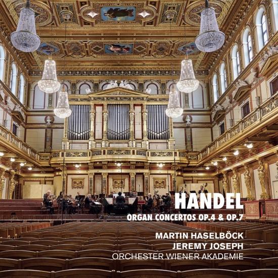 Cover Handel: Organ Concertos Op. 4 & Op. 7