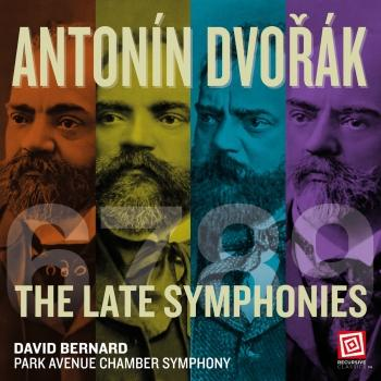 Cover Dvořák The Late Symphonies