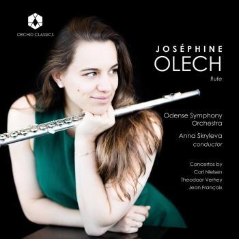 Cover Nielsen, Verhey & Françaix: Flute Concertos
