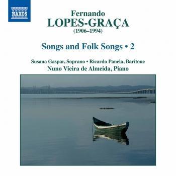 Cover Lopes-Graça: Songs & Folk Songs, Vol. 2