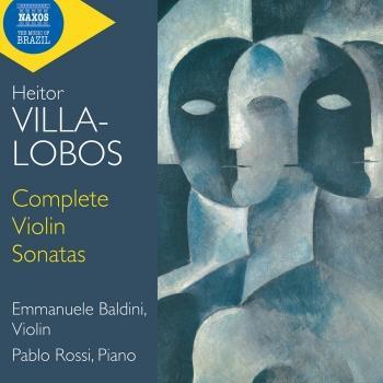 Cover Villa-Lobos: Complete Violin Sonatas