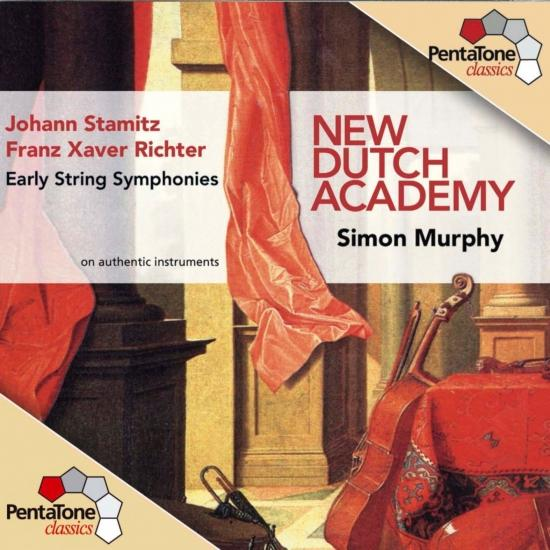 Cover Stamitz / Richter: Early String Symphonies, Vol. 1