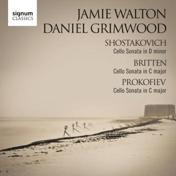 Cover Shostakovich, Britten and Prokofiev: Cello Sonatas