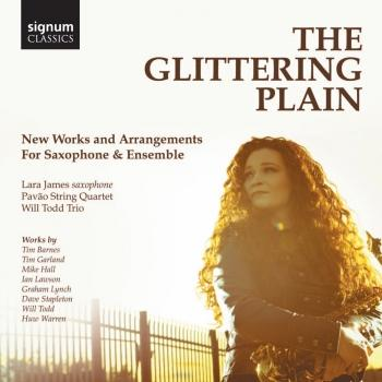 Cover The Glittering Plain: New Works and Arrangements for Saxophone
