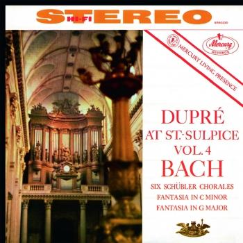 Cover Dupré At Saint-Sulpice Vol.4: Bach (Remastered 2015)