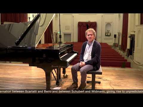 Video Andrea Lucchesini - Dialogues: Scarlatti • Berio | Schubert • Widmann