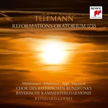 Cover Telemann: Reformations-Oratorium 1755