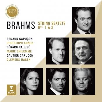Cover Brahms: Sextets (Live from Aix Easter Festival 2016)