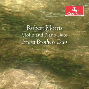 Cover Robert Morris: Violin & Piano Duos