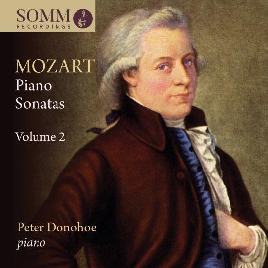 Cover Mozart: Piano Sonatas, Vol. 2