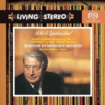 Cover Saint-Saëns Symphony No. 3 / Debussy: La Mer / Ibert: Escales