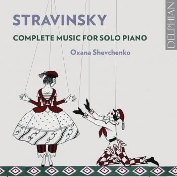 Cover Stravinsky: Complete Music for Solo Piano