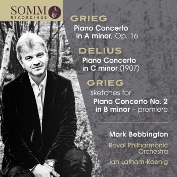 Cover Grieg & Delius: Piano Concertos