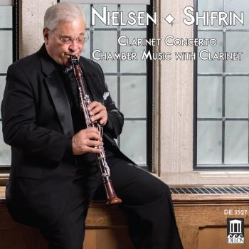 Cover Nielsen: Clarinet Concerto & Chamber Music with Clarinet