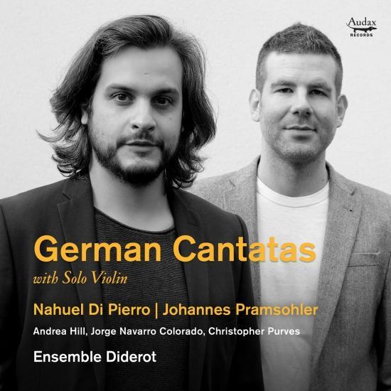 Cover German Cantatas with Solo Violin