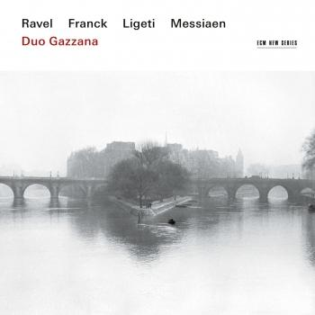 Cover Ravel, Franck, Ligeti, Messiaen