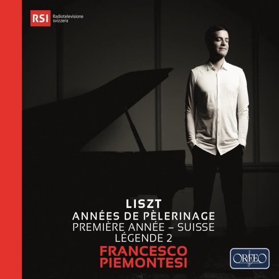 Cover Liszt: Années de pèlerinage I, S. 160 'Suisse' & Légende No. 2