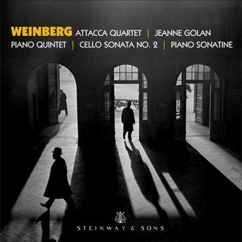 Cover Weinberg: Piano Quintet, Piano Sonatina & Cello Sonata No. 2