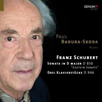 Cover Schubert: Piano Sonata in D Major, D. 850 & 3 Klavierstucke, D. 946