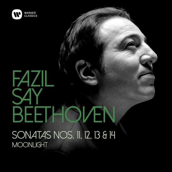 Cover Beethoven: Piano Sonatas Nos 11, 12, 13 & 14, 'Moonlight'