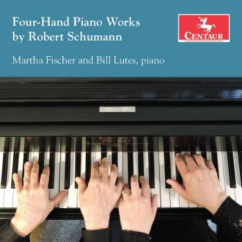 Cover R. Schumann: Works for Piano 4 Hands
