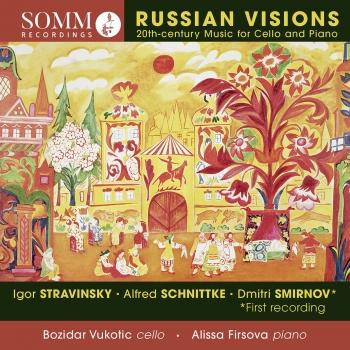Cover Russian Visions: 20th-Century Music for Cello & Piano