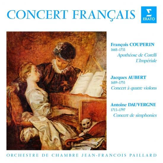 Cover Concert français. Pièces de Couperin, Aubert & Dauvergne (Remastered)