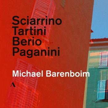 Cover Sciarrino, Tartini, Berio & Paganini: Violin Works