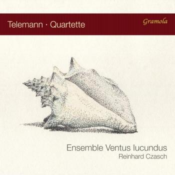 Cover Telemann Quartets