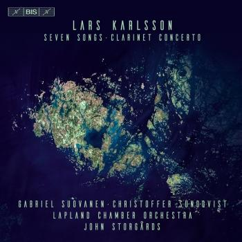 Cover Karlsson: 7 Songs & Clarinet Concerto