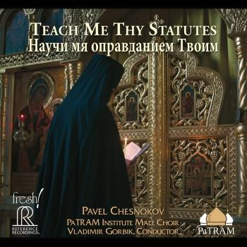 Cover Teach Me Thy Statutes