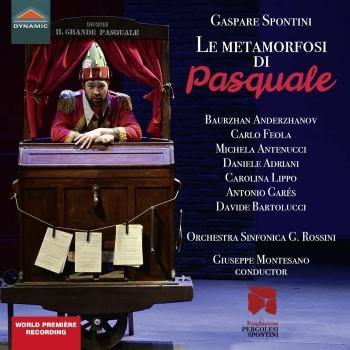 Cover Spontini: Le metamorfosi di Pasquale (Live)