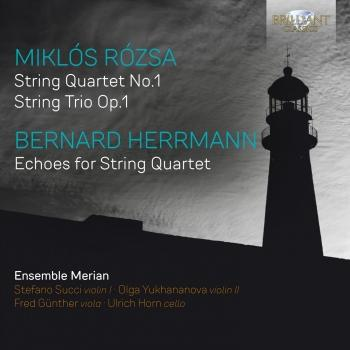 Cover Rózsa & Herrmann: Music for String Quartet