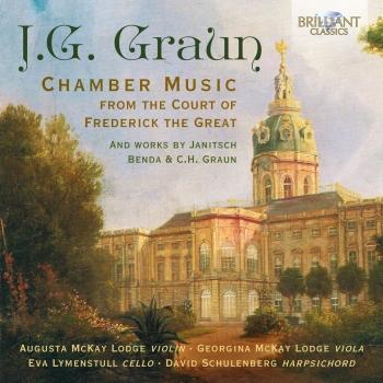 Cover J.G. Graun: Chamber Music