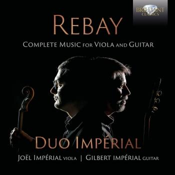 Cover Rebay: Music for Viola and Guitar