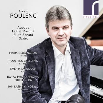 Cover Poulenc: Aubade, Le Bal masqué, Flute Sonata & Sextet