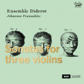 Cover Sonatas for three violins