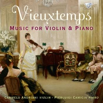 Cover Vieuxtemps: Music for Violin & Piano