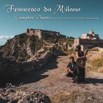 Cover Francesco da Milano Complete Duets (Original works and Joanne Matelart's arrangements)