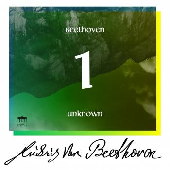 Cover Beethoven: Unknown Masterworks (Volume 1)