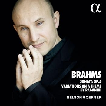 Cover Brahms: Sonata No.3, Op. 5 & Variations on a Theme by Paganini